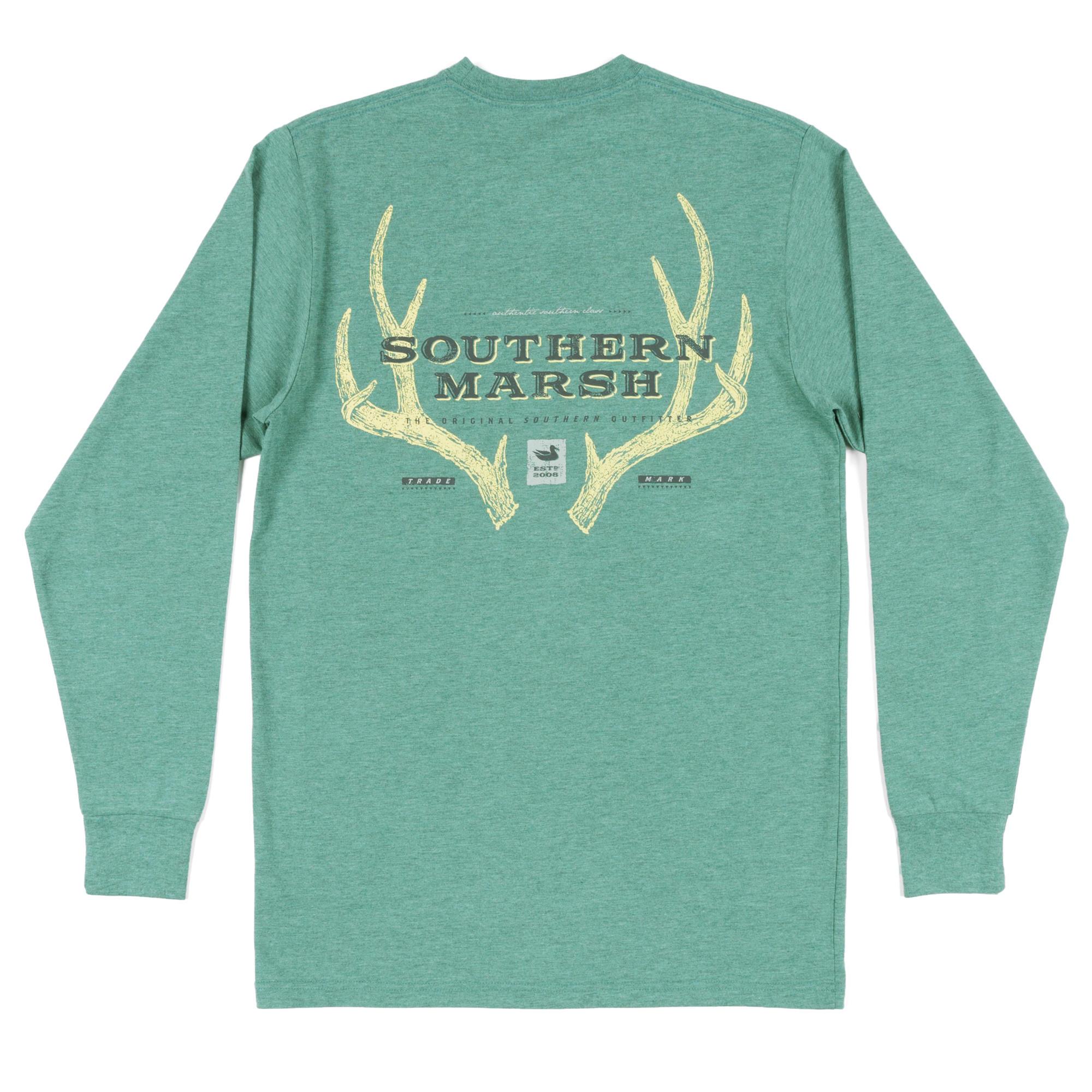 1e3b20d782b Southern Marsh Long Sleeve Origins Rack Shirt (Pick Size Color)